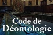 Site dédié - Code de Déontologie